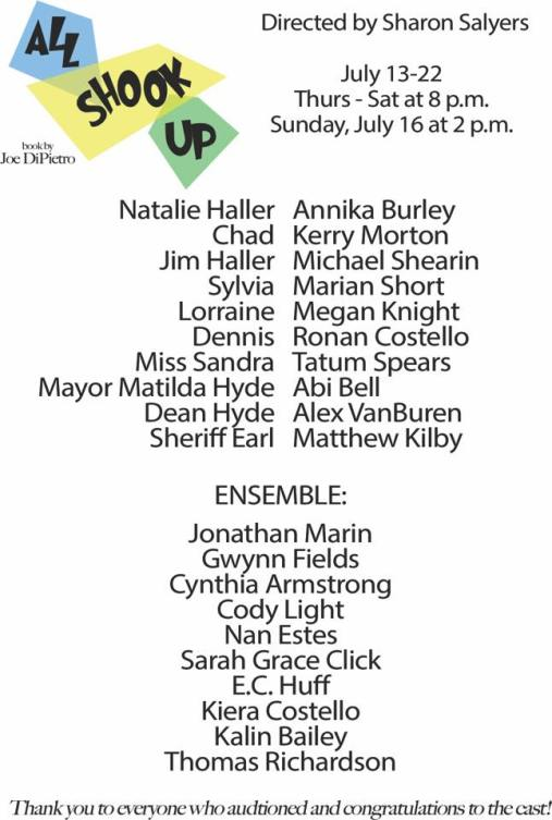 All Shook Up Cast