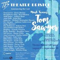 Tom Sawyer @ TB cast