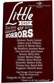 Little Shop @ JCCT cast